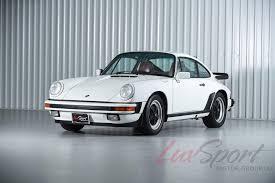 Porsche 911 White - 1987 porsche 911 carrera 3 2 coupe grand prix white burgandy 83k