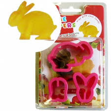 japanese bento accessories cookie cutter set 3d rabbit for vegetab