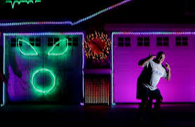 corona home s town pulses with lights synchronized to