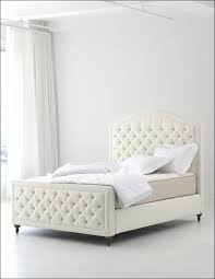 bedroom awesome white wood queen headboards white tufted