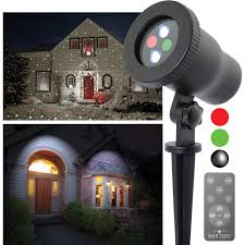 Christmas Outdoor Light Projector by Night Stars Premium Series Red Green Outdoor Laser Christmas Light