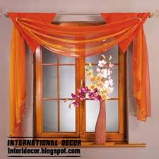 Types Of Curtains Orange Curtain Top Types Of Curtains 2014 Scarf Curtains Designs