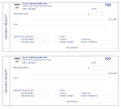 24 payment receipt templates free sample example format