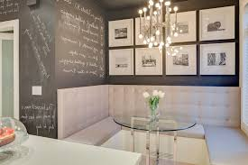 black board paint dining room contemporary with chalkboard paint