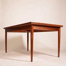 what is a draw leaf table large danish modern draw leaf dining table in teak for sale at 1stdibs