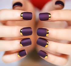acrylic nails purple design gallery nail art designs