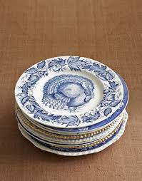 turkey china transferware thanksgiving dinner