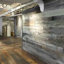 vintage wooden wall why is processed barn siding better for interior accent walls