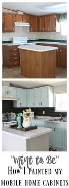 painting mobile home kitchen cabinets painting mobile home laminate cabinets kitchen stuff pinterest