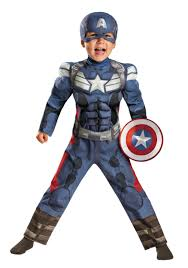 halloween costumes toddler toddler captain america 2 muscle costume halloween costumes