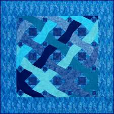ocean waves paper pieced quilt pattern from victoriana quilt