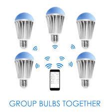 alexa controlled light bulbs flux wifi smart led light bulb flux smart lighting