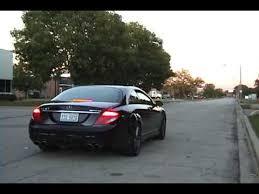 2009 mercedes cl63 amg meisterschaft gt exhaust on mercedes w216 cl63 amg