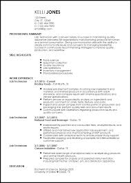 Resume Shipping And Receiving Free Entry Level Lab Technician Resume Templates Resumenow