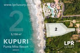 Nayarit Mexico Map by Kupuri Punta Mita Estates Lot 2 Luxury Punta Mita Resort Real