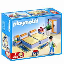 chambre playmobil playmobil 4284 chambre des parents achat vente univers miniature