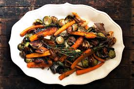 roasted veggies thanksgiving maple roasted vegetables with candied maple pecans seasons and