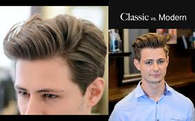 2 year hair cut mens hair classic vs modern 2 different haircuts hairstyle
