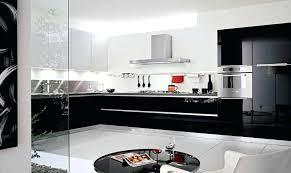 cuisine gris noir cuisine noir et blanc dco with deco gris lolabanet com