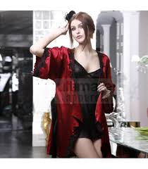 honeymoon nightgowns black and maroon baby doll nightgown for honeymoon