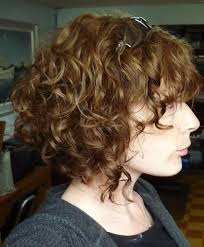 angled curly bob haircut pictures short shaggy inverted wedge haircut for curly hair google search