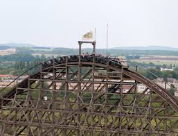 Six Flags Illinois Historic Wooden Roller Coasters Trusted Since 1904