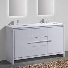 60 In Bathroom Vanity Double Sink Mercury Row Bosley 60