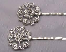 decorative hair pins rhinestone wedding hair pins bridal bobby pins set of