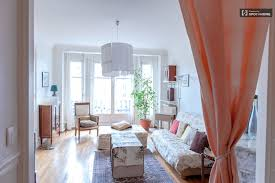 stylish 4 bedroom apartment with balcony in reuilly paris spotahome living area