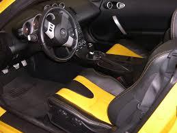 350z Custom Interior Nissan 350z Yellow And Black Interior Custom Auto Addiction
