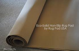 Non Slip Rug Pads For Laminate Floors Rustic Maple A New Rug And Rug Pad Usa Review