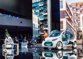 mercedes benz cars at the iaa mobility rethought