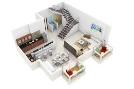home plan 3d house plan duplex home plans and designs homesfeed duplex house