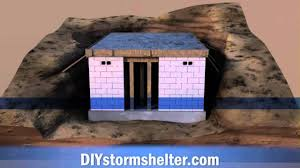 concrete block house concrete block diy storm shelter 12x20 foot youtube
