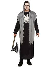 digger halloween costume mens grim reaper costume halloween fancy dress death horror
