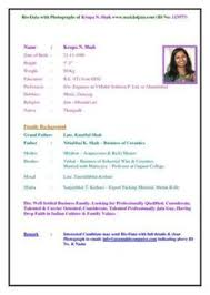 biodata templates marriage biodata format download word format google search