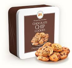 chocolate chip cookies 10 oz gift tin 2325