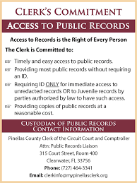 pinellas county fl clerk of the circuit court