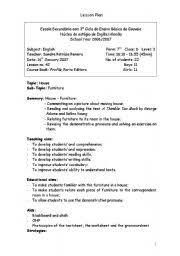 english worksheet lesson plan