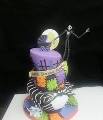 nightmare before christmas baby shower creepy nightmare before christmas cakes cakecentral