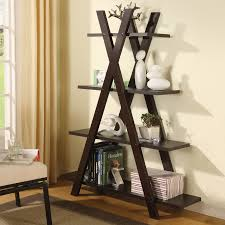 Short Ladder Bookcase Shop Bookcases At Lowes Com