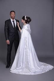 robe mariage marocain robe blanche pour la mairie robe de mariée avec foulard