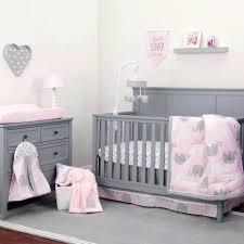 Damask Crib Bedding Sets Grey And Pink Crib Bedding Elkar Club