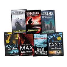 patterson maximum ride 7 books collection set max fang