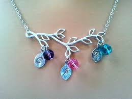 necklace for mothers personalized initial necklace birthstone necklace necklace