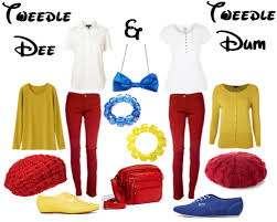 Tweedle Dee Tweedle Dum Halloween Costumes Tweedle Dee Tweedle Dum Cute Cool Bow Tie