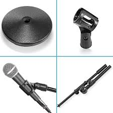 On Stage Ds7200b Adjustable Desk Microphone Stand Black by Amazon Com Neewer Nw 210 Sturdy Mini Microphone Stand With Heavy