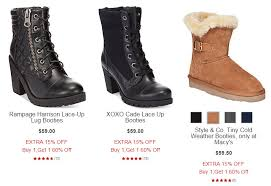 s boots for sale boots at macy s buy one get one 60 plus an 15