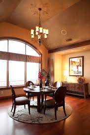 Round Rug For Dining Room Area Rugs For Dark Hardwood Floors Dining Room Contemporary With
