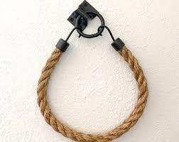Rope Curtain Tie Back Rope Tieback Etsy